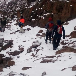 Mount Kenya rock climbing